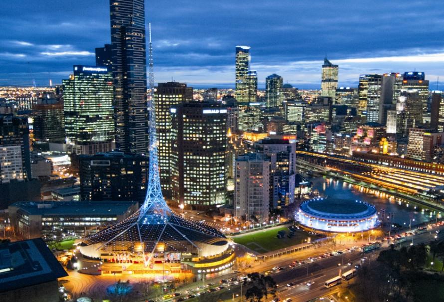Melbourne : ville de bonheur, ville de joie